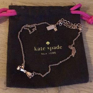 Kate spade Hawaii limited edition ribbon necklace